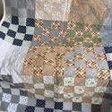 Patchwork vintage takaró, Otthon & lakás, Lakberendezés, Lakástextil, Takaró, ágytakaró, Varrás, Patchwork, foltvarrás, A termék a képen láthatóhoz képest több részletben is eltérhet. 240 x 160 cm méretű  Patchwork vint..., Meska