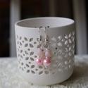 Rózsaszín álom - gyöngy fülbevaló, Ékszer, Fülbevaló, Egyszerűségével hívhatja fel magára a figyelmet, ez a fülbevaló. , Meska