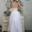 tüll szoknya, Ruha, divat, cipő, Esküvői ruha, Női ruha, Szoknya, Méretre készítek tüllszoknyákat. Elül rövid hátul hosszú fazon ., Meska