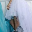 tüllszoknya, Ruha, divat, cipő, Esküvői ruha, Női ruha, Szoknya, Többféle színben és méretben készítek tüllszoknyákat. elöl rövid hátul hosszú fazon..., Meska