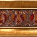 Három testvér tűzzománc kép, Magyar motívumokkal, Otthon, lakberendezés, Dekoráció, Falikép, Három erő. Három hasonló, de mégis különböző minta. A kiinduló pont közös, de a fejlődés útja már mi..., Meska
