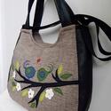 Szerelmes madárkák 3inOne univerzális táska, Anne Univerzális XL táskák - ÚJRA RENDELHETŐ!...