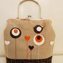 Szívvirágos, madaras fém füles 3inOne csatos táska, Anne fém füles táskák 3inOne - KÉSZLETEN - so...