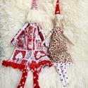 Mr. és Mrs. Santa Claus doll - karácsonyi manók, Dekoráció, Ünnepi dekoráció, Karácsonyi, adventi apróságok, Karácsonyi dekoráció, AnneHome - Karácsonyi dekorációk KÉSZLETEN!  Mr.és Mrs. Santa Claus doll Skandináv karácsonyi kézzel..., Meska