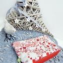 Szarvasos - karácsonyi neszesszer, smink tartó, Táska, Karácsonyi, adventi apróságok, Neszesszer, Pénztárca, tok, tárca, Karácsonyi neszesszer - KÉSZLETEN!  Egy cipzáras neszi mindig jól jön :) Szeretettel ajánlom Neked e..., Meska
