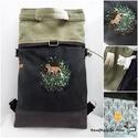 Kirándulás a meseerdőben - Chameleon shopping backpack 4:1 - a róka