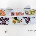 Füles pillangós doboz neszesszer, Neszesszerek - KÉSZLETEN!  Pillangó mintás vás...