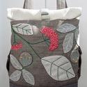 Pachwork, hímzett virágos - Chameleon rolltop backpack , Chameleon Rolltop/Backpack - ÚJ - KÉSZLETEN!  Az...