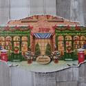 Karácsonyi üzlet,bolt mintás ajtódísz,üdvözlőtábla, Dekoráció, Karácsonyi, adventi apróságok, Otthon, lakberendezés, Ünnepi dekoráció, Karácsonyi dekoráció, Ajtódísz, kopogtató, Decoupage, transzfer és szalvétatechnika, Karácsonyi üzlet,bolt mintás ajtódísz,üdvözlőtábla választható mintával és felirattal.Mérete:15x30 ..., Meska