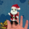 Télapó ujjbáb, Játék, Báb, Nemsokára itt a december ,a karácsony ezért nem árt időben elkezdeni a készülődést az ünnepekre. :) ..., Meska