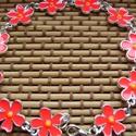 zománc karkötő, Ékszer, Karkötő, virág formáju zománc karkötő Méret: virág 16x13 mm Hossza: 20 cm , Meska