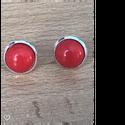 bedugós fülbevaló, Ékszer, Fülbevaló, Bedugó fülbevaló   cabochon Méret: 12 mm., Meska