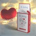 """25 dolog amiért szeretlek párkapcsolati kártyacsomag, Mindenmás, Furcsaságok, Fotó, grafika, rajz, illusztráció, ÚJDONSÁG! Unalmas és elcsépelt a """"szeretlek""""? Akkor ragadj tollat és írd le neki miért szereted! Eg..., Meska"""
