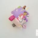 Készségfejlesztő játékkocka kisbabáknak . :), Baba-mama-gyerek, Játék, Gyerekszoba, Készségfejlesztő játék, Kedves Vásárlóm!  *a babakocka 25 % kedvezménnyel kapható az alábbi okok miatt! A babakocka midnen o..., Meska
