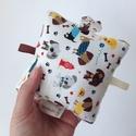 Kutyusok- Készségfejlesztő játék kisbabáknak, csörgővel . :), Baba-mama-gyerek, Játék, Gyerekszoba, Készségfejlesztő játék, Pici babák számára készült puha játék öko-tex szalagokkal, halk csörgővel. Könnyű kézbe venni és ját..., Meska