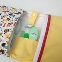 Kutyuok- Pelenkatáska, pelenkázó neszesszer, Baba-mama-gyerek, Táska, Baba-mama kellék, Neszesszer, Varrás, Egy extra cuki minta készleten! ****** Kutyusos designer textil, valamint 100%-os pamutvászonból , ..., Meska