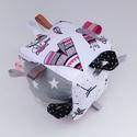 Erdő lakói- készségfejlesztő játékkocka kisbabáknak . :), Gyerek & játék, Gyerekszoba, Játék, Készségfejlesztő játék, Pici babák számára készült puha játékkocka, amely megannyi színnel és élménnyel várja kis tulajdonos..., Meska