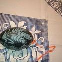 """""""Búzakalászos"""" egyedi gravírozott emu tojás, Magyar motívumokkal, Képzőművészet, Húsvéti díszek, Vegyes technika, Gravírozás, pirográfia, Mindenmás, A kuriózumnak számító emutojás eredetileg sötétzöld színű, érdes, fényes felületű. A tojást díszíté..., Meska"""