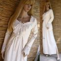 Vintage stílusú kabátka antik horgolásokkal, Alternatív menyasszonyi ruhához ajánlom ezt a k...