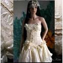 MIMI - menyasszonyi ruha, Esküvő, Ruha, divat, cipő, Esküvői ruha, Menyasszonyi ruha, A RÉSZLETEKÉRT NÉZD MEG NAGYÍTÁSBAN IS !!!  A nagyítani kívánt képen a jobb egérgomb megnyomásával m..., Meska