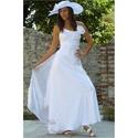 TINA - menyasszonyi ruha , Esküvő, Ruha, divat, cipő, Menyasszonyi ruha, Esküvői ruha,   Modern fazonú, mégis romantikus, egyszerű vonalú, egy darabból szabott béleletlen menyasszonyi ruh..., Meska