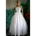 SOPHIA - menyasszonyi ruha , Esküvő, Ruha, divat, cipő, Menyasszonyi ruha, Esküvői ruha, Különleges színezési technikával készült kétrészes menyasszonyi ruha erős, jó tartású pamutvászonból..., Meska