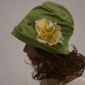MALINKA - selyem flapper-kalap, Különleges alkalmakra ajánlom ezt az 1920-as é...