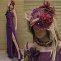 ORCHIDEA - exkluzív alkalmi design-szett, Esküvő, Táska, Divat & Szépség, Női ruha, Ruha, divat, Estélyi ruha, Különleges alkalmakra ajánlom ezt az orchidea színű puha taftselyemből készült három-részesemet: - H..., Meska