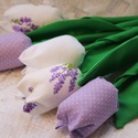 Egyedi lila tavaszi tulipán csokor, Dekoráció, Mindenmás, Otthon, lakberendezés, Csokor, Vidám tavaszi tulipánjaim lila  színvilágban készültek. Száruk masszív, nem törik. Kedves dísze lehe..., Meska