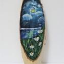 Éjjeli margaréta tenger faszeleten, Művészet rajongóknak tökéletes ajándék, egy...