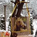 LOvas tarisznya, Táska, Tarisznya, Varrás, Patchwork, foltvarrás, Egyedi, Fotó utáni tarisznya a KEDVENC fényképével! A gyerkőcöd kedvenc állatáról készült fotó alap..., Meska