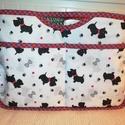 Westie kutyás táskarendező, Praktikus és nagyon jó minőségű anyagból ké...
