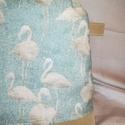 Menta flamingós óriási neszesszer vagy táskarendező, Táska, Divat & Szépség, Táska, Neszesszer, Alja kiszélesedik így teljes mértékben kihasználható. De , ha más az elképzelésed nyugodtan írd meg ..., Meska