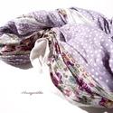 Romantikus lila virágos csősál csipkével , Ruha, divat, cipő, Kendő, sál, sapka, kesztyű, Sál, Női ruha, Varrás, A 15000 Ft feletti ingyen postázás nem vonatkozik minden termékre!!! Kérlek olvasd el ezzel kapcsol..., Meska