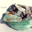 Mentaszínű vadvirágos csősál, Ruha, divat, cipő, Kendő, sál, sapka, kesztyű, Női ruha, Sál, A 15000 Ft feletti ingyen postázás nem vonatkozik minden termékre!!! Kérlek olvasd el ezzel kapc..., Meska