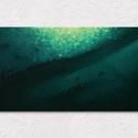 Odalent - Digitális festmény, Művészet, Festmény, Festészet, Fotó, grafika, rajz, illusztráció, A kép címe: Odalent. Digitális absztrakt/impresszionista festmény, melynek optimális mérete 60×35cm..., Meska