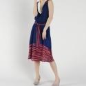 Nyári ruha, Gyönyörű kék nyári ruha.  Mérete: 36-os  Any...