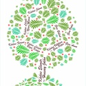 EGYEDI családfa grafikai ábrázolása, Dekoráció, Képzőművészet, Kép, Grafika, Saját tervezésű digitális grafika, családfa illusztráció, minden esetben egyedi családfa adatok alap..., Meska