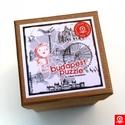 Puzzle - Budapest Map kirakós, Játék, Baba-mama-gyerek, Készségfejlesztő játék, 16 darabos kirakójáték. Illusztráció:Vigyázó Zsófia. Jó szórakozást!, Meska