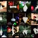 BOLDOG CSONTOK , ÍZÜLETEK - kerámia karácsonyfadísz / hűtőmágnes / sport , fittség, egészség, jóga/ gerinc, testtartás, KÜLÖN RENDELHETŐEK!!!  Létrehoztam a Boldog Í...