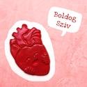 BOLDOG SZÍV - kerámia hűtőmágnes / gyógyító szeretet / életöröm / egészség / boldogság, Méret: kb. 4-5 cm 1-2 munkanap alatt postázásra...