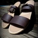 H MadeS H O E  szandál, saru(36-37-38-os), Ruha, divat, cipő, Cipő, papucs, Bőrművesség, Varrás, Egyedi tervezésű és kivitelezésű cipők, minden modell, az éppen aktuális anyagok által születnek, m..., Meska