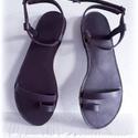 """handmadeS H O E  szandál, saru, Ruha, divat, cipő, Cipő, papucs, Bőrművesség, Varrás, modell: EOS  """"igazi görög hangulatot idéző """" BÁRMILYEN SZÍNBEN MEGRENDELHETŐ   Egyedi elgondolásoka..., Meska"""