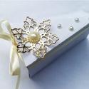 """Esküvői meghívó """"Gold magic"""", Különleges, teljesen egyedi, saját tervezésű,..."""