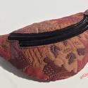 Topáz övtáska, Baba-mama-gyerek, Az övtáska mérete 27 cmx20 cm,az állítható fekete hevederpánt  hossza 100 cm,szélessége 2 c..., Meska