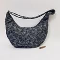 Krétakör félhold táska, Táska állítható pánttal 123 cm x4 cm,magassá...