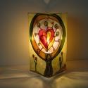 Szeretet fa - festett üveg hangulat lámpa , Otthon, lakberendezés, Esküvő, Lámpa, Nászajándék, Szeretet fa - festett üveg hangulat lámpa  ------------------------- Telitalálat ajándék, bárm..., Meska