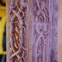 indás bordür,ajtokeret, Dekoráció, Képzőművészet, Otthon, lakberendezés, Képkeret, tükör, Szobrászat, Kőfaragás, Gyürük ura ihlette indás mintázatu kő keret, mely tökéletes ajtók képek rusztikus stílusban történő..., Meska