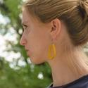 ILK fülbevaló, Ruha, divat, cipő, Ékszer, Mindenmás, Fülbevaló, Bőrművesség, Dobd fel a napod ragyogó színű fülbevalókkal!  Az ILK fülbevaló kollekció darabjai az egy speciális..., Meska