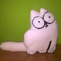 Simon's cat, Simon macskája plüss, Játék, Plüssállat, rongyjáték, Mindenmás, Varrás, Szívesen elkészítem álmaid Simon's cicáját ~19 cm-es méretben. Thermopolár anyagból, filcből készül..., Meska